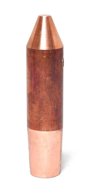 Zvárací hrot – 45°, ISO kužeľ 1:10