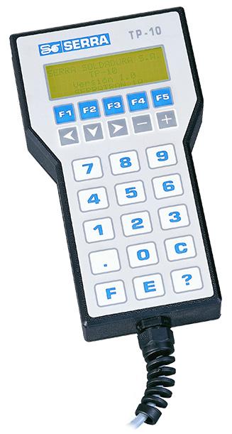 TP-10 hordozható programozóterminál